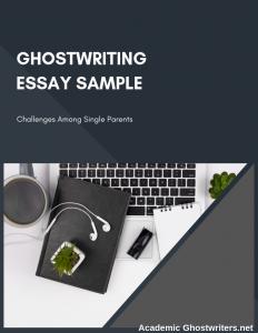 ghostwriting essay sample